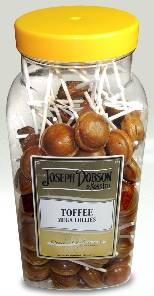 R19 DOBSONS TOFFEE LOLLY 1X90